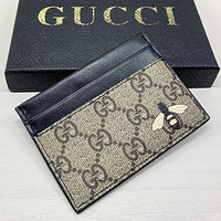 GG Mens and Womens Double G Short Wallet Bag-4