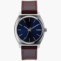 Nixon Time Teller Watch Blue/Brown One Size For Men 25993924901