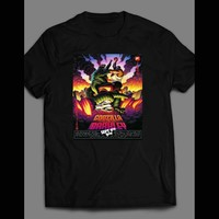 CHARLES BARKLEY VS GODZILLA SHOE AD T-SHIRT