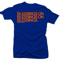 Jordan 5 Low Knicks Blessings Blue T Shirt