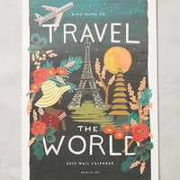 Travel The World 2015 Calendar by Rifle Paper Co. Multi One Size Office