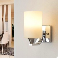 Glass Bedroom/ Living Room Novelty Wall Lamp