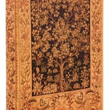 BARNES & NOBLE | Antique Tree of Life Printed Italian Lined Leather Journal 6 X 8 by Barnes & Noble, Diarpell