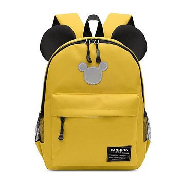 New kindergarten small class schoolbag cartoon children backpack 2-5 years old boys and girls travel play backpack