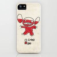 Stitch good&bad meter.... iPhone & iPod Case by Emiliano Morciano (Ateyo)
