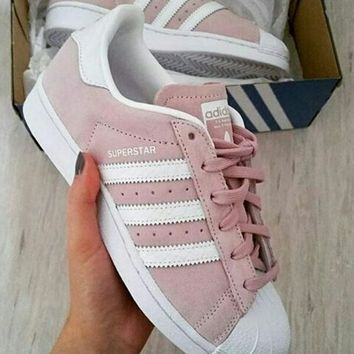 adidas Originals Superstar Fashion Shell-toe Series Flats Sneakers Sport Shoes