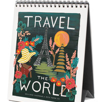 2016 Travel the World Desktop Calendar