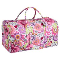 Quilted Sleepover Laura Floral Duffle