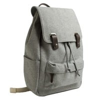 The Canvas Snap Backpack