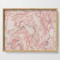 Pink Marble Serving Tray by allisone