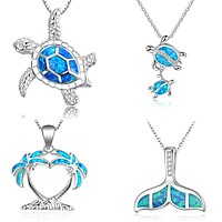 Women Wedding Ocean Beach Jewelry Necklace