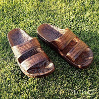 brown jon jandals® - pali hawaii Jesus sandals