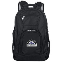 Colorado Rockies Backpack Laptop-BLACK