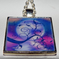 """Unique Necklace, Jewelry, Gifts for Women,Black Friday, Free Shipping, One of a Kind,  """"Moonlit Night"""" , Original"""