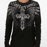 Affliction Jovial Reversible Thermal Shirt