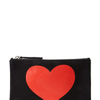 Heart Graphic Pouch