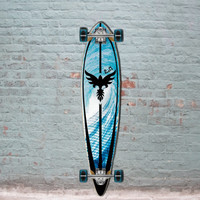 Tsunami 40 inch Pintail Longboard from Punked - Complete