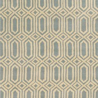 Rizzy Home 'Hexagon' Hand Tufted Wool Area Rug