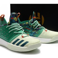 Adidas Harden Vol. 2 Green Basketball Shoes US7-11.5