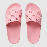 Gucci slippers GG