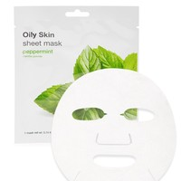 Oily Skin Peppermint Sheet Mask - Accessories - Beauty - 1000110490 - Forever 21 Canada English
