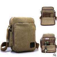 Korean version of the canvas shoulder bag man bag outdoor multifunctional bag = 1697391684