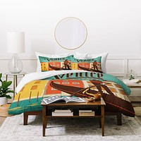 Anderson Design Group Venice 1 Duvet Cover