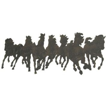 Running Horses Silhouette Wall Decoration | Shop Hobby Lobby