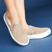 J/Slides Arpel Shearling-Lined Sneakers