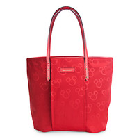 Mickey Mouse Preppy Poly Tote Bag by Vera Bradley - Red