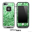 Glimmer Green Skin for the iPhone 5 or 4/4s LifeProof Case