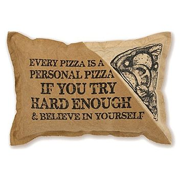 Double-Sided Canvas Every Personal Pizza Throw Pillow