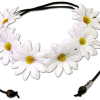 Sunny Floral Crown   fresh-tops.com