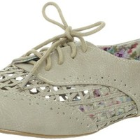 Not Rated Women's Crosshatch Oxford