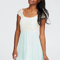 Lace And Chiffon Twofer