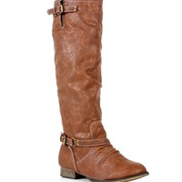 Pre-Order: Tan Knee High Riding Boots