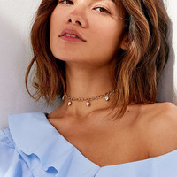 Frasier Sterling It's Complicated Choker Necklace | Urban Outfitters