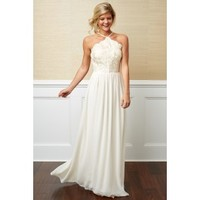 Vision Of Love Ivory Maxi Dress