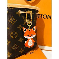 Louis Vuitton LV CUTE FOX Bag Charm And Key Holder