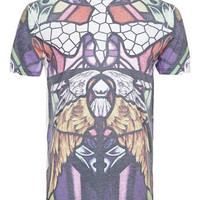 WHITE STAINED GLASS T-SHIRT - Men's T-shirts & Tanks - Clothing