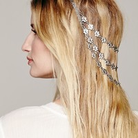 Free People Silver Blossom Headpiece