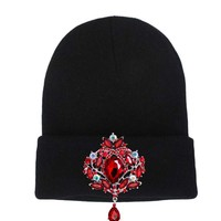New Knitted Winter Women's Hats Skullies Beanies Caps Luxury Crystal Decoration Headgear Females Bonnet Gorros chapeu feminino