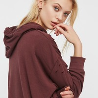 Free People Girl Got Shoulder Hoodie