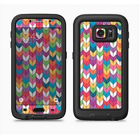 The Color Knitted Full Body Samsung Galaxy S6 LifeProof Fre Case Skin Kit
