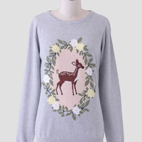 Floral Bambi Sweater By Sugarhill