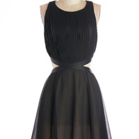 ModCloth Mid-length Sleeveless A-line Eye-catching Excitement Dress