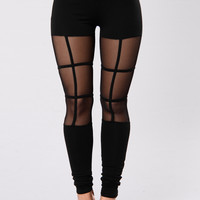 Too Fresh Leggings - Black