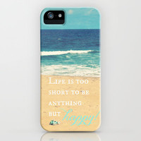 Life is too Short iPhone & iPod Case by RDelean