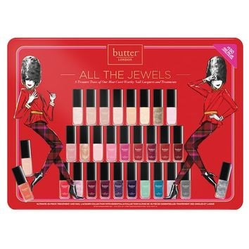 butter LONDON All the Jewels 45-pc. Nail Lacquer & Treatment Set