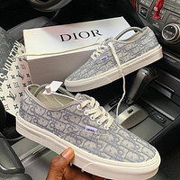 VANS SK8-HI x Dior Fashion Sneakers Sport Shoes
